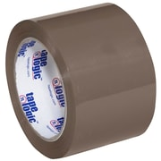 "Tape Logic 3"" x 110 yds. x 1.6 mil #600 Hot Melt Tape, Tan, 24/Case"