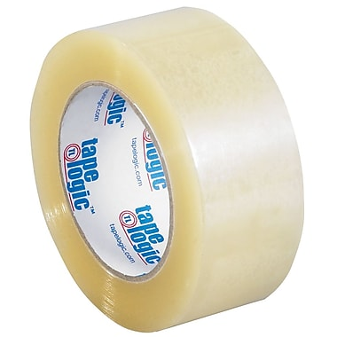 Tape Logic 2in. x 110 yds. x 1.6 mil Acrylic Tape, Clear, 6/Pack