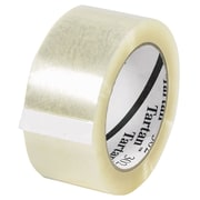 3M 2 x 110 yds. x 1.6 mil 302 Carton Sealing Tape, Clear 6/Pack
