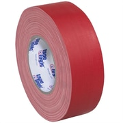 Tape Logic 2 x 60 yds. x 11 mil Gaffers Tape, Red, 3/Pack