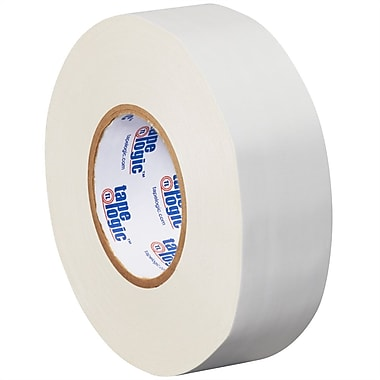 Tape Logic 2in. x 60 yds. x 11 mil Gaffers Tape, White, 3/Pack