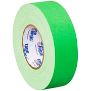 "Tape Logic® Gaffers Tape, 11 Mil, 2"" x 50 yds., Fluorescent Green, 24/Case"