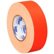 Tape Logic 2 x 50 yds. x 11 mil Gaffers Tape, Fluorescent Orange, 3/Pack