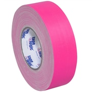 Tape Logic 2 x 50 yds. x 11 mil Gaffers Tape, Fluorescent Pink