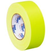 Tape Logic 2 x 50 yds. x 11 mil Gaffers Tape, Fluorescent Yellow, 3/Pack