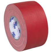 Tape Logic 3 x 60 yds. x 11 mil Gaffers Tape, Red, 3/Pack