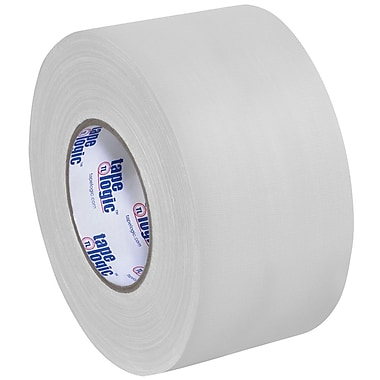 Tape Logic 3in. x 60 yds. x 11 mil Gaffers Tape, White, 3/Pack