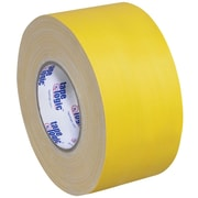 "Tape Logic® Gaffers Tape, 11 Mil, 3"" x 60 yds., Yellow, 3/Case"