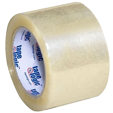 Tape Logic 55 yds. x 3in. x 2.5 mil #900 Hot Melt Adhesive Tape, Tan
