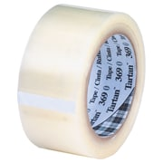 3M 2 x 55 yds. x 1.6 mil 369 Carton Sealing Tape, Clear, 6/Pack