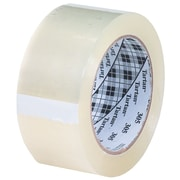 3M 2 x 110 yds. x 1.8 mil 305 Carton Sealing Tape, Clear 6/Pack