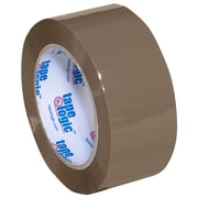 "Tape Logic 110 yds. x 2"" x 2.5 mil #900 Hot Melt Adhesive Tape, Tan"