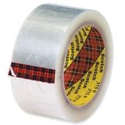 "3M 2"" x 55 yds. x 3.1 mil 375 Carton Sealing Tape, Clear, 6/Pack"