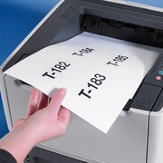 "Superscan 5"" x 3"", Laser/Inkjet Envelope Insert Card 200/Case, White (LH226)"