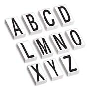 """Tape Logic 3.5""""H Warehouse Letter Kit Label, White/Black (DL9316)"""