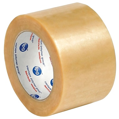 Intertape 3in. x 110 yds. x 1.7 mil #570 Carton Sealing Tape, Clear, 6/Pack
