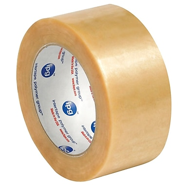 Intertape 2in. x 55 yds. x 2.2 mil #530 Carton Sealing Tape, Clear, 6/Pack