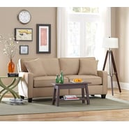 Sofab® Coco Style Solid Wood/Fabric Sofa, Beige