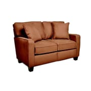 Sofab® Coco Chocolate Fabric Loveseat