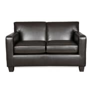 Sofab® Executive Style Loveseat, Mocha