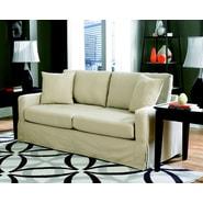 Sofab® Lily Ivory Fabric Sofa