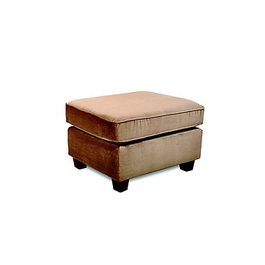 Sofab® Muse Style Solid Wood/Fabric Ottomans