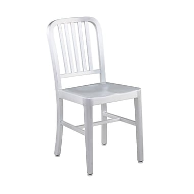 Euro Style™ Cafe Aluminum Dining Side Chair, Matte