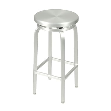 Euro Style™ Miller-B Aluminum Swivel Bar Stool