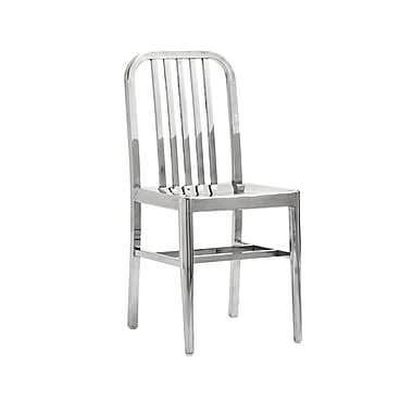 Euro Style™ Sandi Polished Stainless Steel Dining Side Chair
