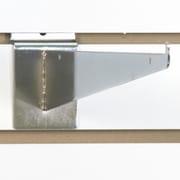 Slatwall Shelf Bracket, Chrome, 14