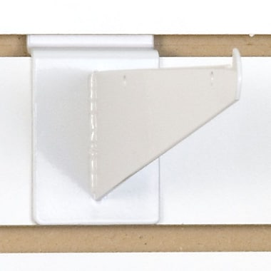 Slatwall Shelf Bracket, White, 8