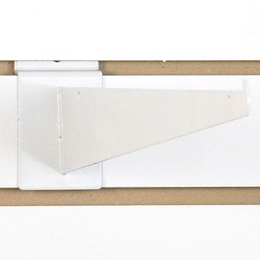 Slatwall Shelf Bracket, White, 16