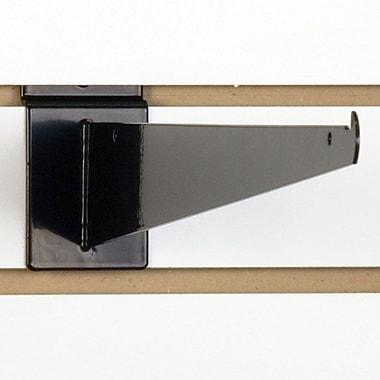 Slatwall Shelf Bracket, Black, 16