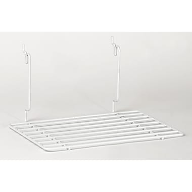 Flat Shelf, White, 12