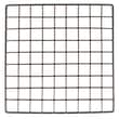 Mini Grid, Black, 14in. X 14in.