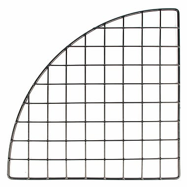 Mini Grid Corner, Black, 14in.