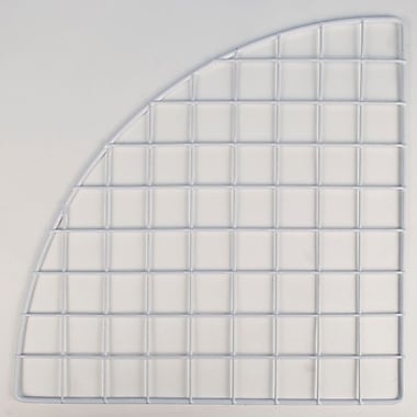 Mini Grid Corner, White, 14in.