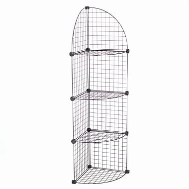 Mini Grid Corner Unit, 4 Shelves