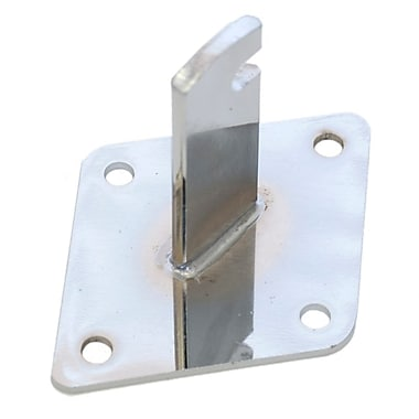 Grid Wall Mount Bracket, Chrome