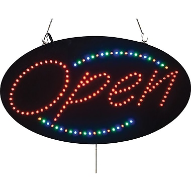 Led Open Sign, 5in. X 27in. X 1in.