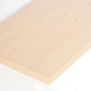Melamine Shelf, Maple, 12