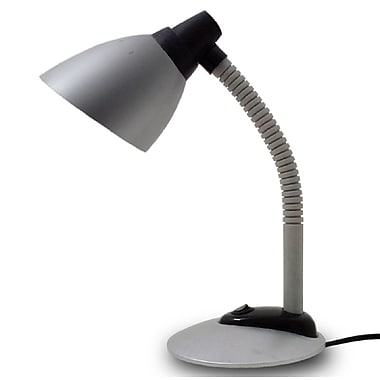 Simple Designs High Powered LED Desk Lamp, Silver