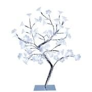 Simple Designs Large Morning Glory LED Decorative Tree, White