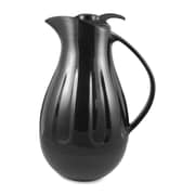 Genuine Joe® 1.37 qt. 5 Cup Double Wall Swirl Carafe, Black