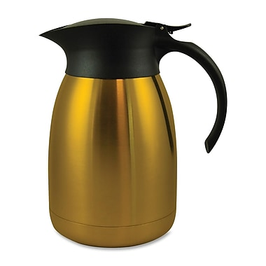 Genuine Joe® 1.27 qt. Classic Vacuum Carafe, Gold