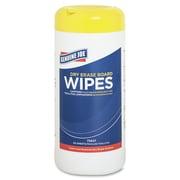Genuine Joe® Nontoxic Low-Odor Dry-Erase Board Cleaning Wipes