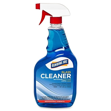 Genuine Joe® Glass Cleaner, 32 oz. Trigger Spray Bottle