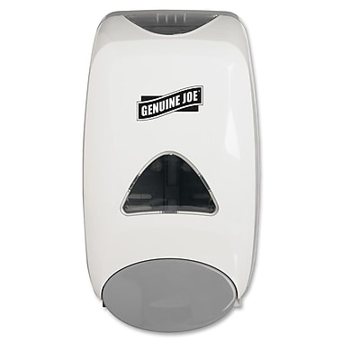 Genuine Joe® 1.32 qt. Manual Soap Dispenser, White
