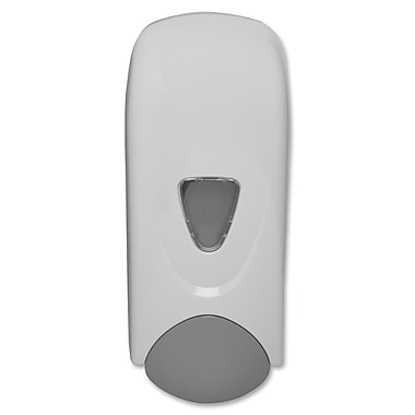 Genuine Joe® 33.8oz. Manual Bulk Liquid Soap Dispenser, Gray/White