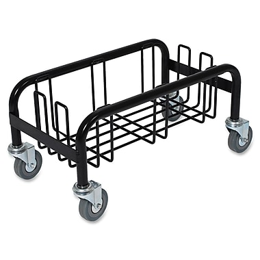 Genuine Joe® 58557 Steel Wall Hugger Dolly, 10in.(H) x 10 1/2in.(W) x 19 1/2in.(D)